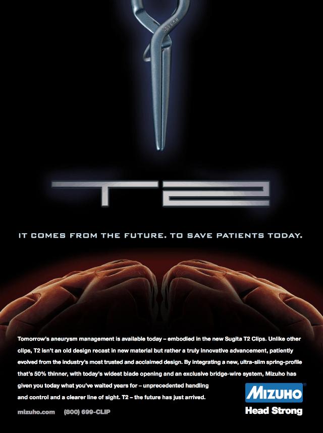 Mizuho T2 Aneurysm Clip — US Launch Ad