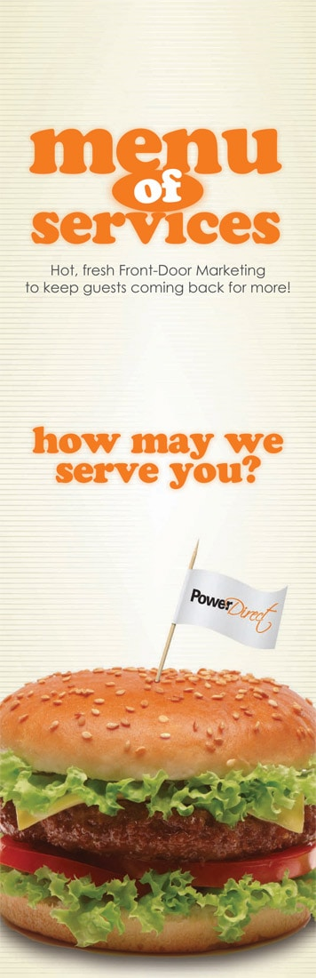PowerDirect Menu Mailer
